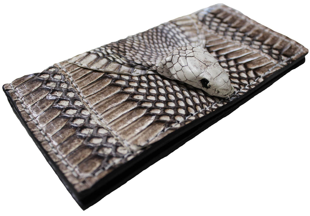 Bullhide Belts Cobra Checkbook Cover With Head