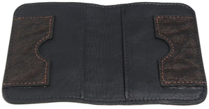 Bullhide Belts Dark Brown Elephant Passport Wallet