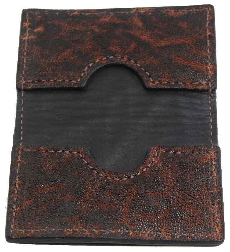 Bullhide Belts Genuine Dragon Fire Elephant Credit Card Wallet