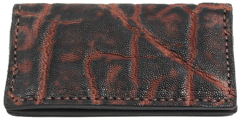 Bullhide Belts Genuine Dragon Fire Elephant Checkbook Cover