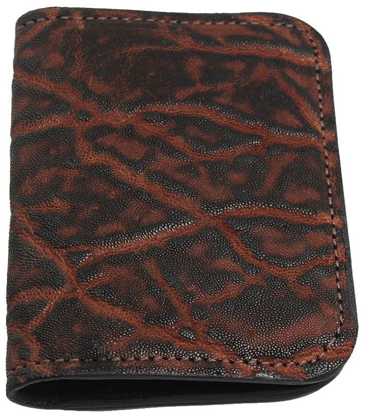 Bullhide Belts Genuine Dragon Fire Elephant Passport Wallet