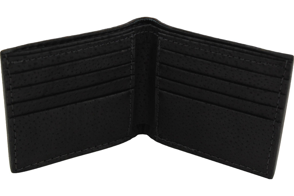 Black Stingray Bifold Wallet