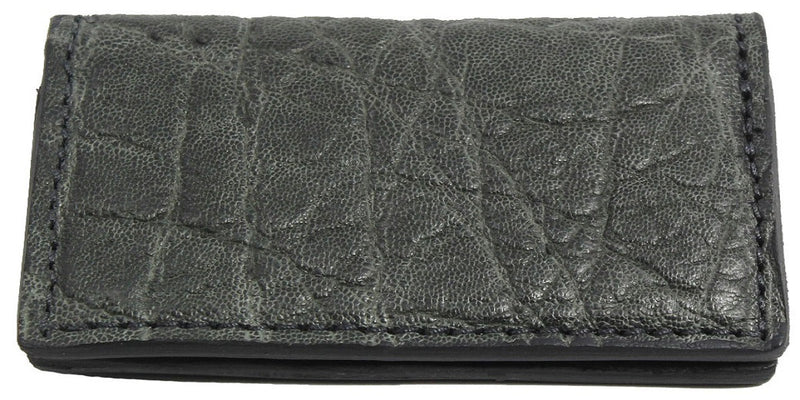 Bullhide Belts Charcoal Grey Elephant Checkbook Cover