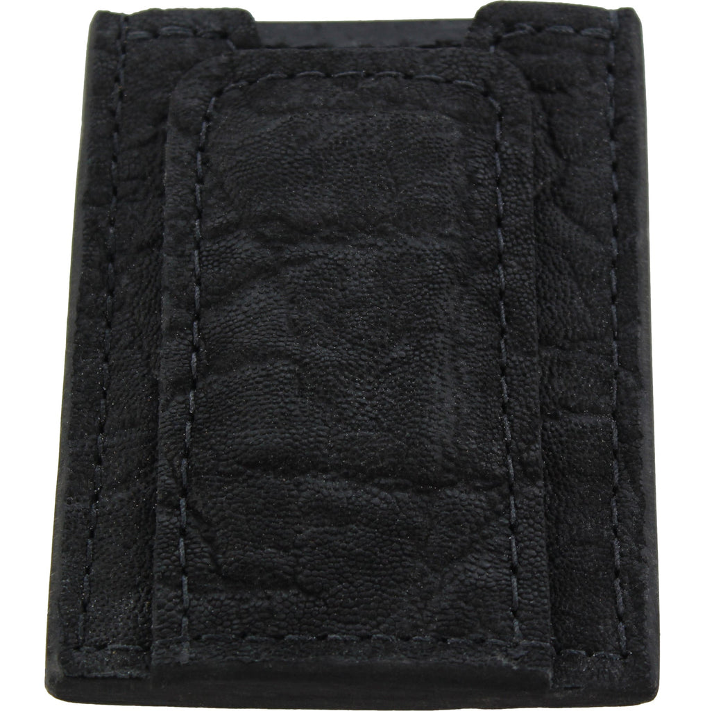 Black Elephant Money Clip Wallet With Credit Card Slots