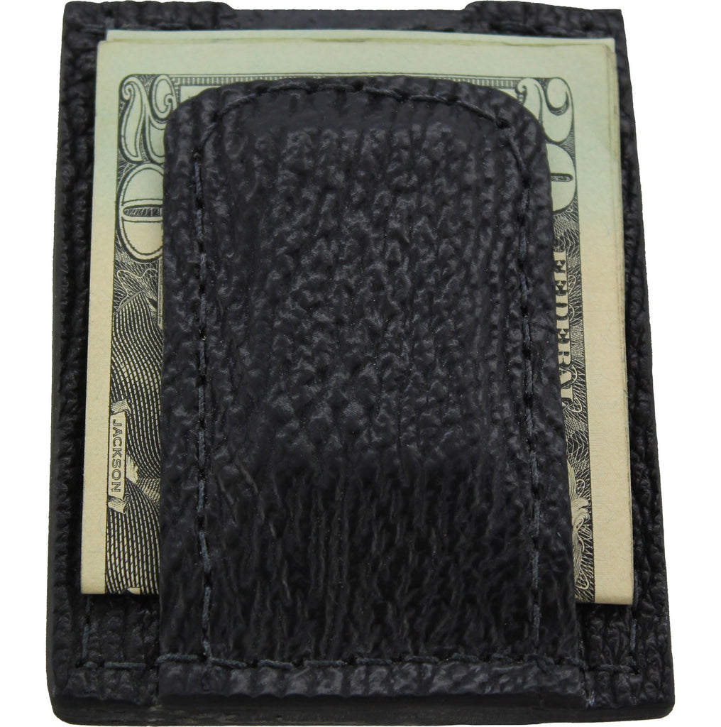 Black Shark Money Clip Wallet With Credit Card Slots