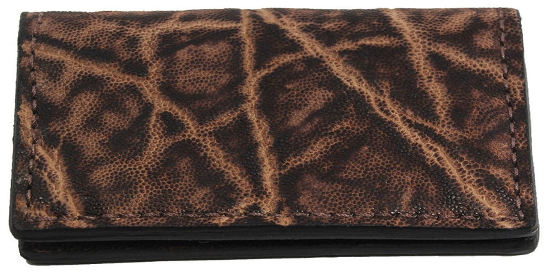 Bullhide Belts Rustic Brown Elephant Checkbook Cover