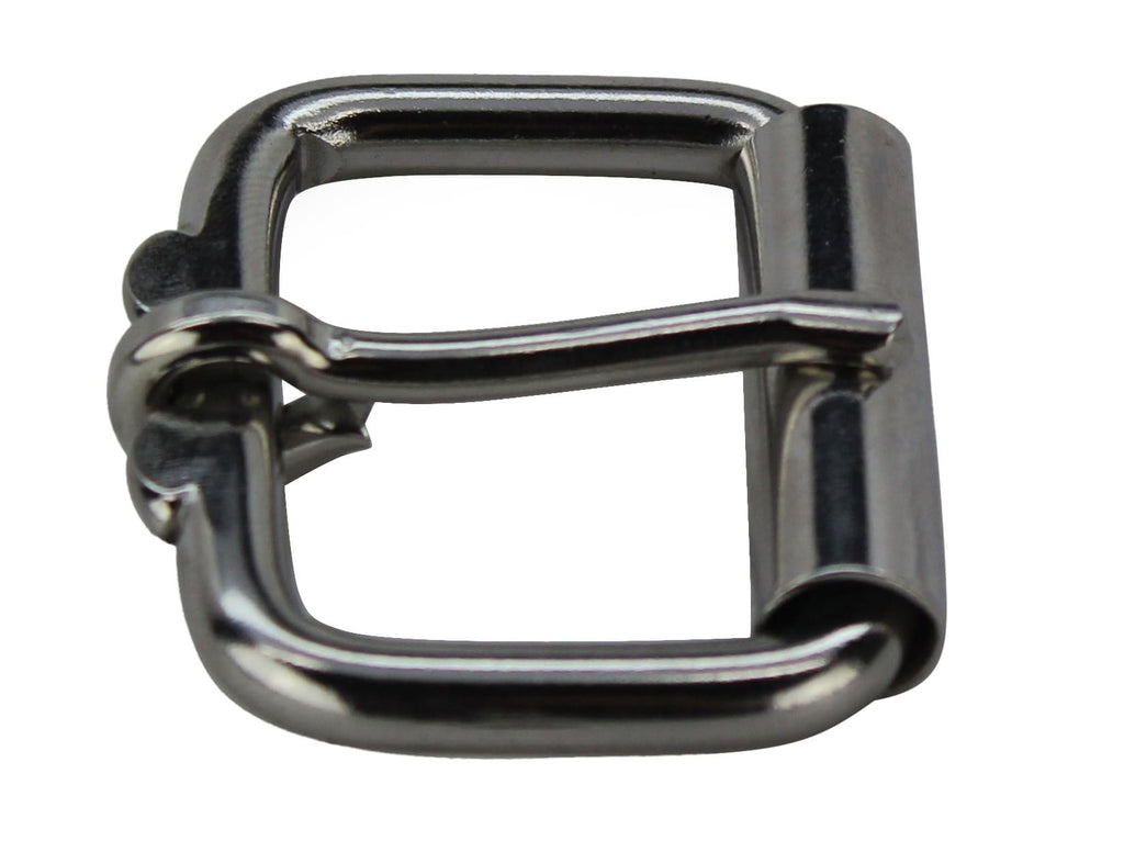 Bullhide Belts Extra Buckle - Stainless Roller