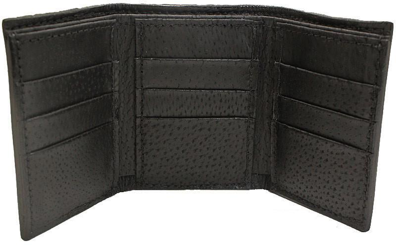 Bullhide Belts Blue Stingray Trifold Wallet