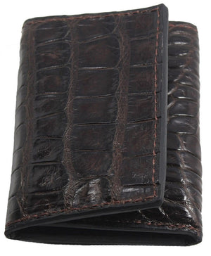 Bullhide Belts Brown Alligator Trifold Wallet