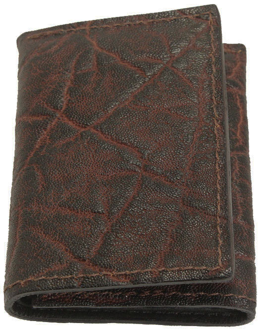 Bullhide Belts Genuine Dragon Fire Elephant Trifold Wallet
