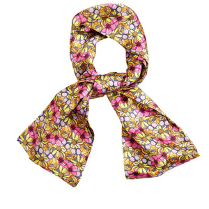 Long Skinny Silk Scarves