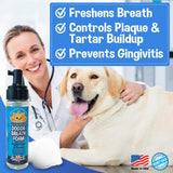 Peppermint Dog Breath Foam