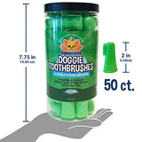 Disposable Dog Finger Toothbrushes