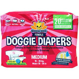 Disposable Dog Female Diapers | Extra-Small-Extra-Large