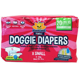 Disposable Dog Female Diapers | X-SMALL