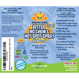 Bitter 2 in 1 No Chew & Hot Spot Spray 8oz