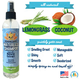 Waterless Shampoo | Lemongrass