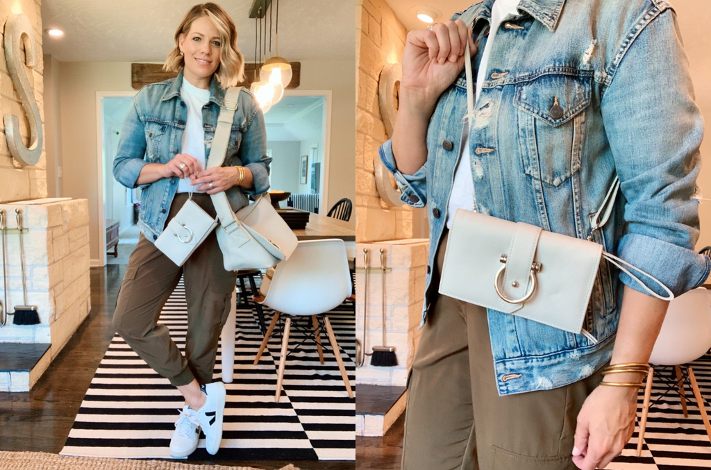 The Staney leather crossbody can be worn four ways and is the best versatile wallet, wristlet and more