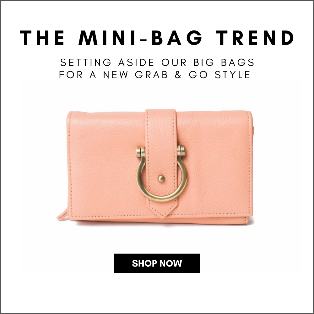 Mini-Bag Trend: Grab and Go Style Peach Pink Staney