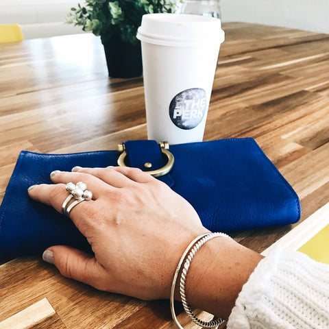 Sapahn Ciara Wallet with Coffee