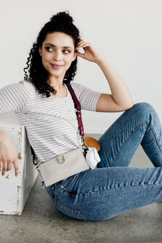 Sapahn sequence is a mix and match collection of leather bags and accessories.