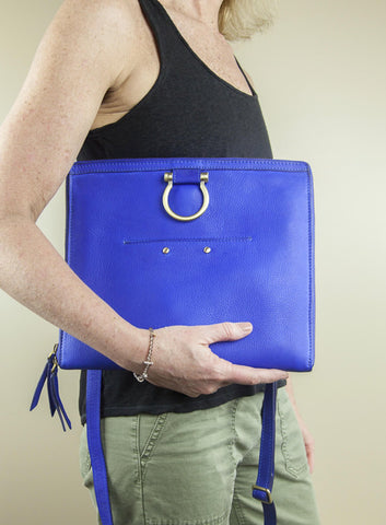 Sapahn M Crossbody in Wave Blue
