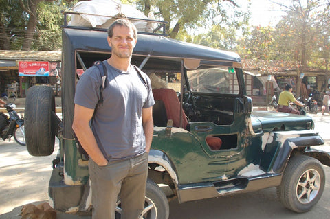 Human rights activist and scholar Matthew Mullen in Myanmar
