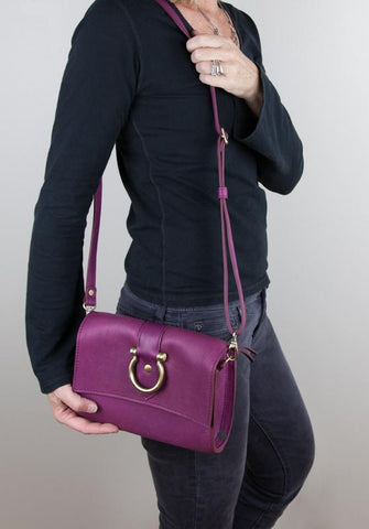 Sport the gorgeous Audrey Crossbody everywhere you go