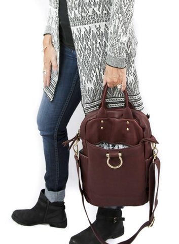 The Rodica Tote and Backpack is the dream carry on bag!