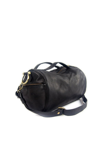 Joyce Duffel Crossbody in Black