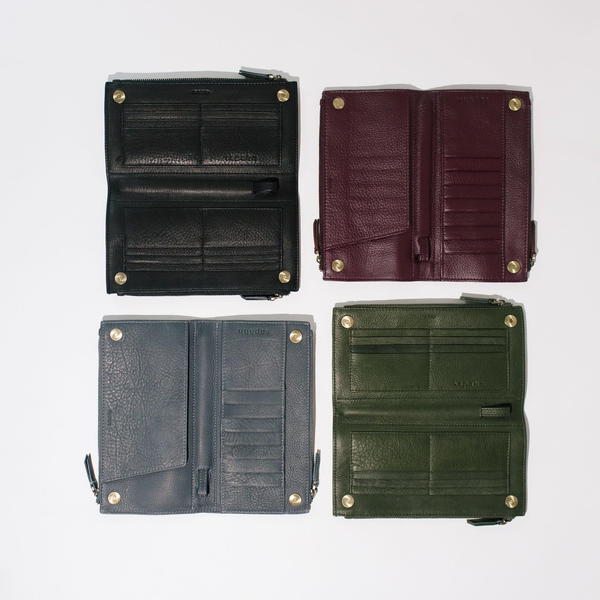 Wallet examples of 2020 Fall/Winter Color Trends