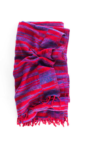 Yak Blanket | Red-Pink