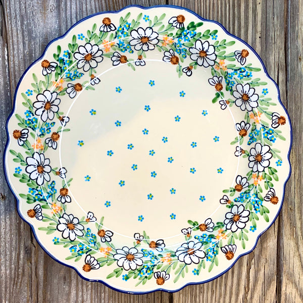Manufaktura Fancy Round Platter