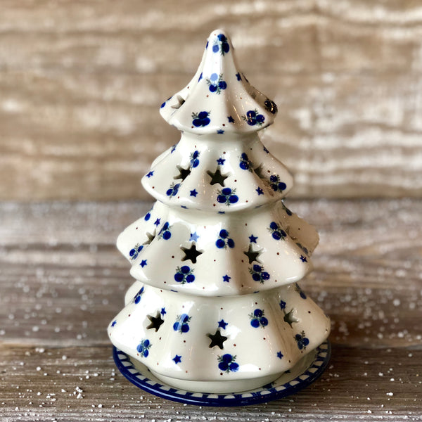 CA Christmas Tree Candle holder 8.25 inches Tall