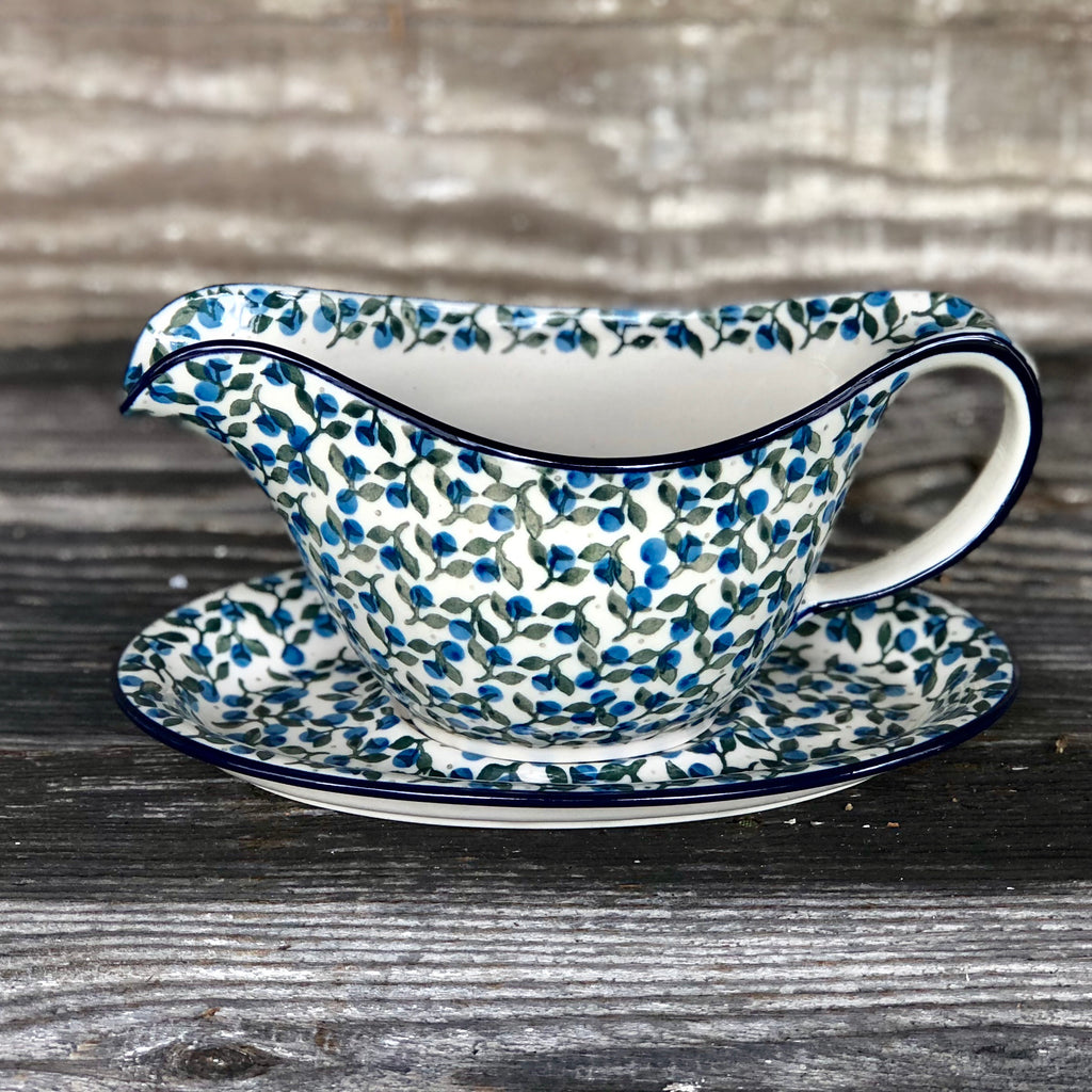 CA Gravy Boat and Saucer