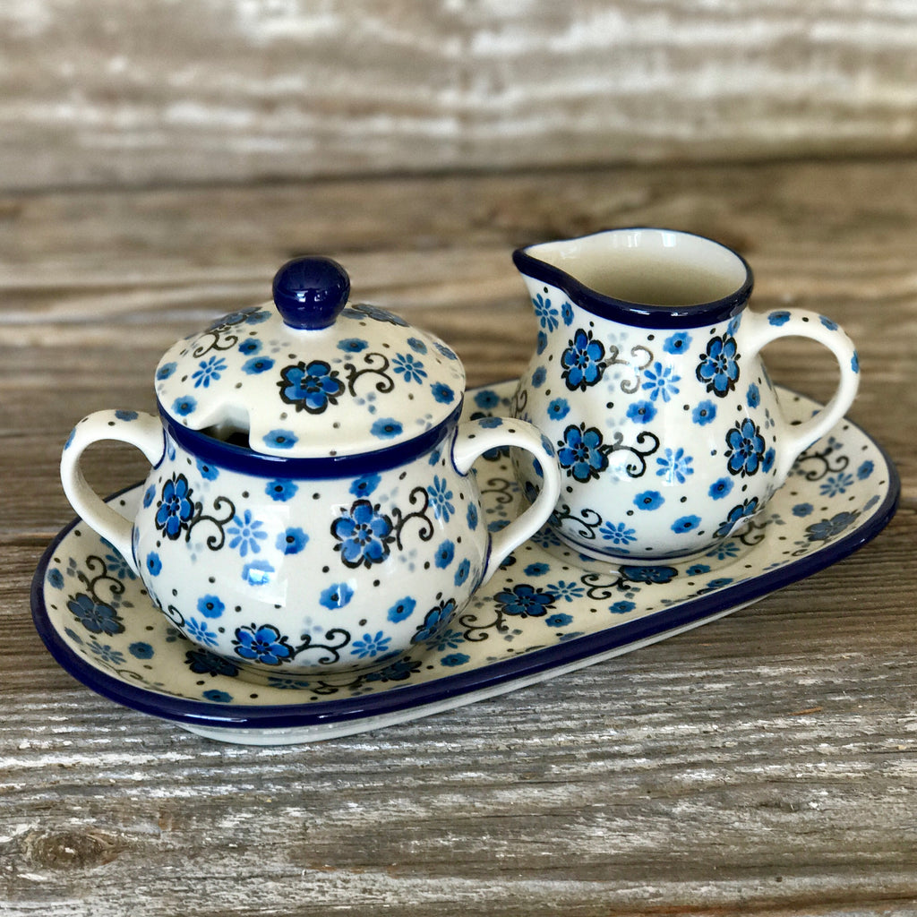 CA Sugar & Creamer with Tray