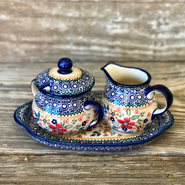 Manufaktura Cream and Sugar Set