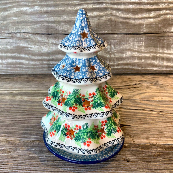 CA Christmas Tree Votive 8.2 inches Tall