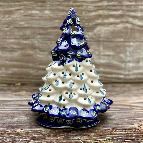 Christmas Tree Votive 9 in Tall