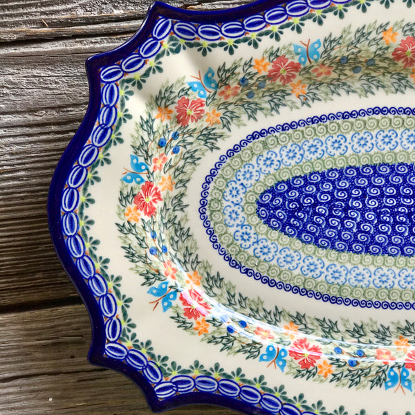 Kalich Large Fancy Platter