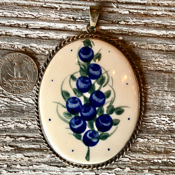 Millena Pendent, Polish Pottery and Silver Web Clearance