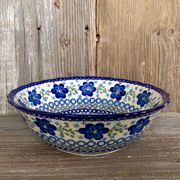 Scalloped Edge Bowl 10 1/4 dia Vena
