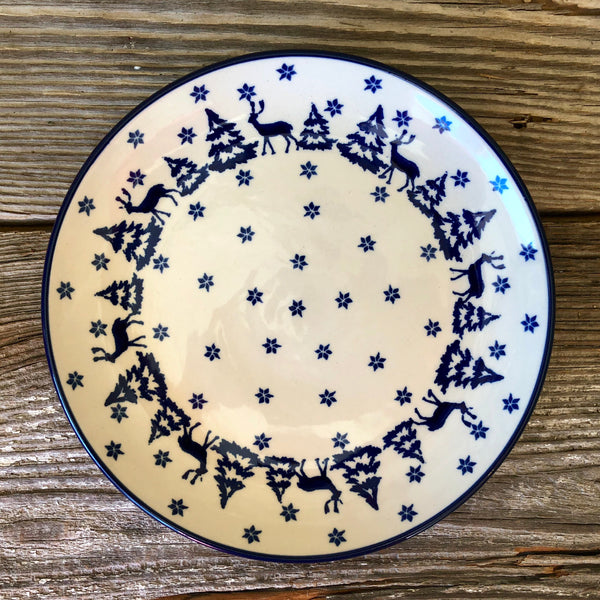 Dinner Plate 9in CA & Twins Polish Pottery