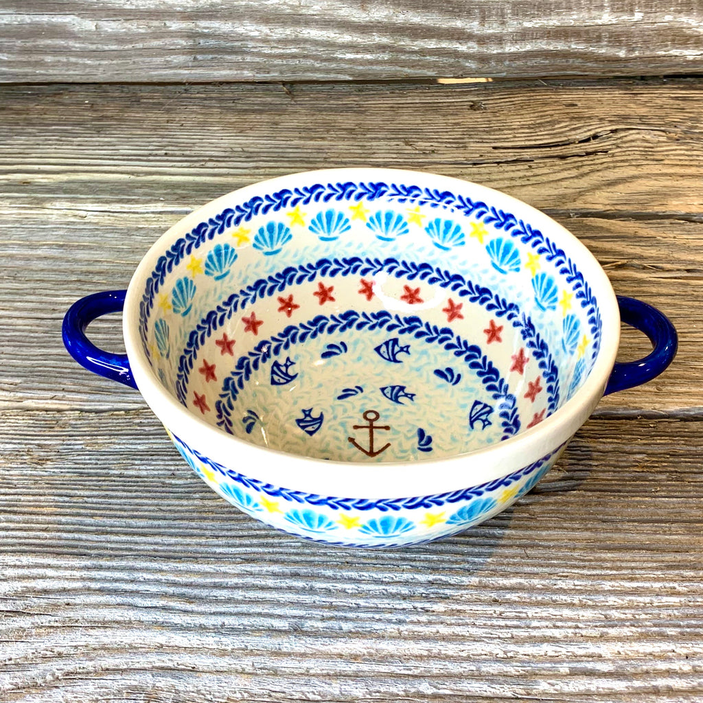 Serving Bowl with handles Vena