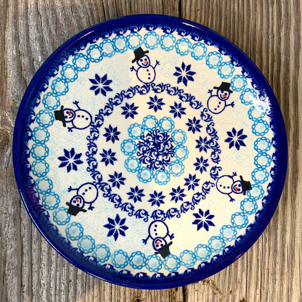 Vena Christmas Plates 7 7/8 inches Clearance