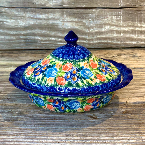 Fancy Covered Dish Kalich