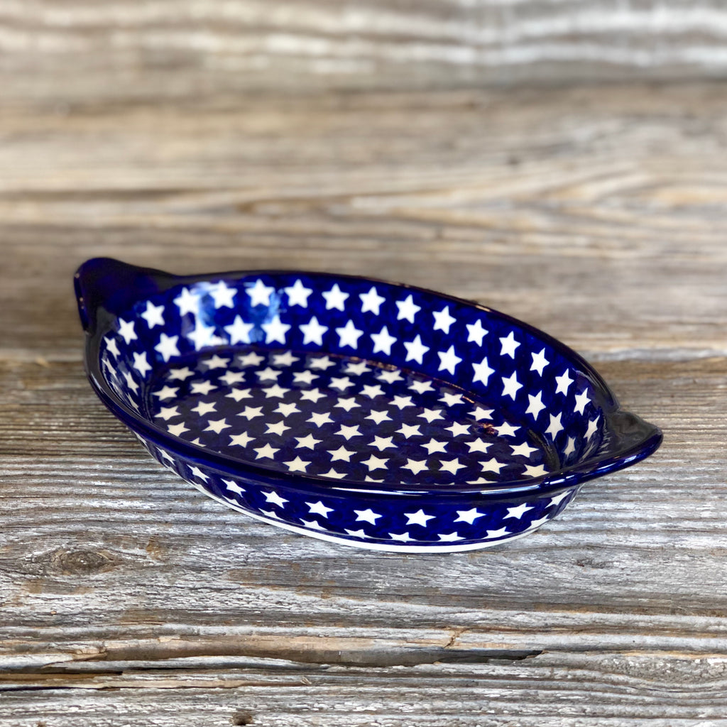 Small Oval Dish with Handles Millena Clearance