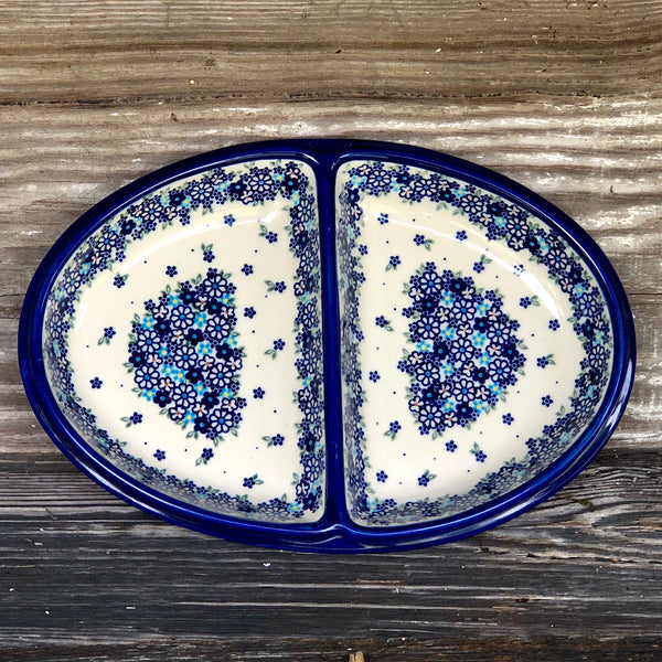 Divided Oval Dish/Platter Vena