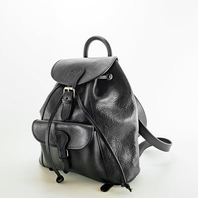Urban Backpack - Vacchetta leather Made in Rome Italy (2483116310613)