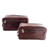 Italian Leather Travel Toiletries Bag (2520602148949)